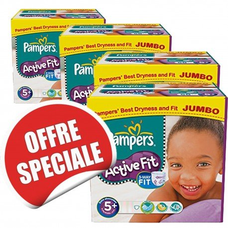 870 Couches Pampers Active Fit Taille 5 Pas Cher Sur Les Looloos