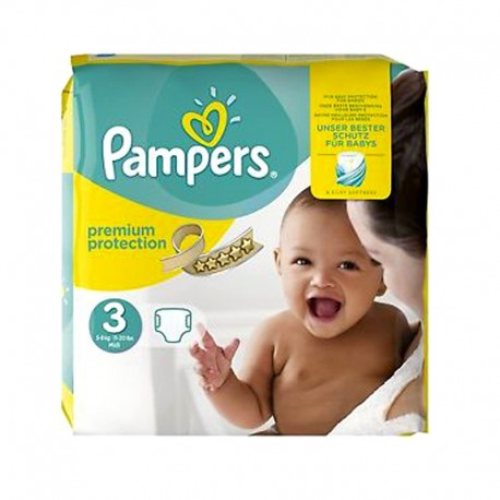 80 Couches Pampers Premium Protection Taille 3 A Bas Prix Sur Les